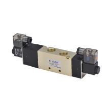 4V400 Serie Legierung Magnetventil / Zwei-Position Fünf-Wege- / Aluminium-Legierung Pneumatische Magnetventil