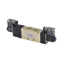 4V400 Series Alloy Solenoid valve/Two-position Five-way /Aluminum Alloy Pneumatic Solenoid Valve
