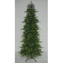 Realista Artificial Árvore de Natal com String light Multi Color LED Decoration (7ABT)