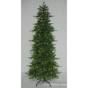 Realist Künstlicher Weihnachtsbaum mit String Licht Multi Farbe LED Dekoration (7ABT)