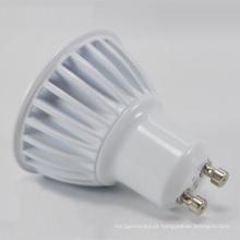 Bulbo quente do diodo emissor de luz da eficiência elevada 3W / 5W GU10 da venda
