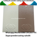 Elektrostatik Spray Pure Polyester Wrinkle Powder Coating