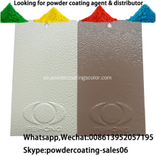 Elektrostatisk spray Pure Polyester Wrinkle Powder Coating