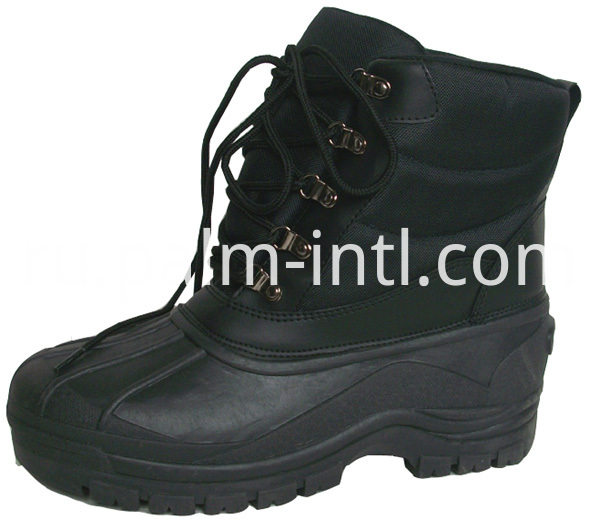Waterproof TPR-Outsole Snow Boots