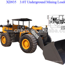 3.0T Wheel Loader with Good Price XD935