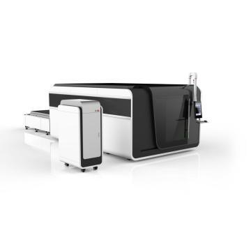Máquina de corte por láser de fibra para metal y acero