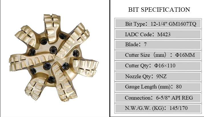 Matrix Body Bit For Drilling