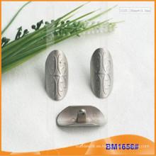 Botón de aleación de zinc y botón de metal y botón de costura de metal BM1656