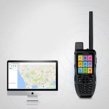 UHF Satellit Walkie Talkie GPS Navigator Vattentät