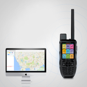 Tracker GPS per cellulari Walkie Talkie