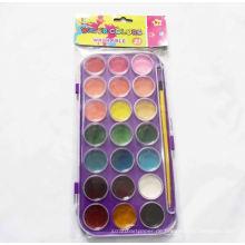 Farbe einfache Farbe, Wasserfarbe Stift, Aquarellfarbe