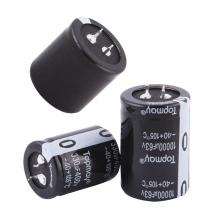 Etopmay Popular Snap in Terminal Condensador electrolítico de aluminio 330UF 200V Tmce18 para PC