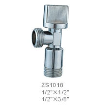 180 degree Brass Angle Valve With Chrome Plated
