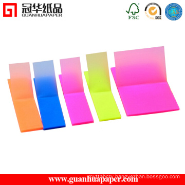 Promotional Sticky Notes Pad with Colorful Book Markers Sticky Notes