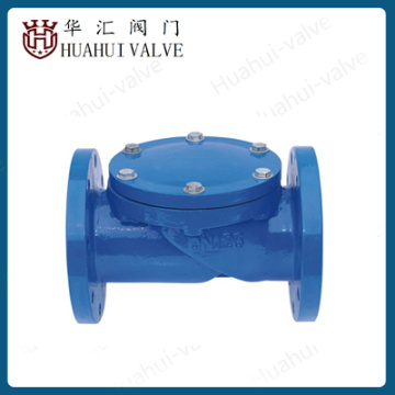 Cast iron Rubber Disc Check Valve for let water no reback