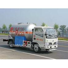 Dongfeng Mini 4 * 2 LPG Camión Cisterna, China nuevo lpg camión cisterna fábricas