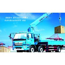 XCMG guindaste montado caminhão de 8 toneladas (crescimento telescópico) Sq8sk3q-II