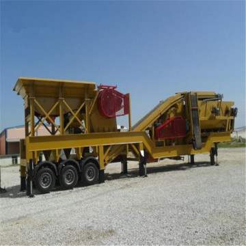 Second Hand Quarry Mobile Jaw Crusher Plant Equipment