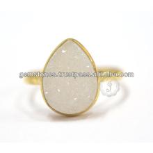 Druzy Designer Gemstone bijoux en argent faits main