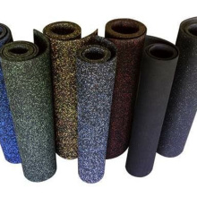 CE Certified Anti-slip Rubber Gym Flooring Matting Roll
