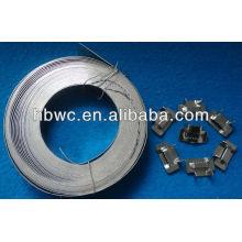 201/202/304/316L из нержавеющей стальной лентой