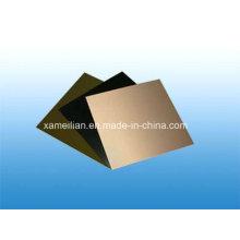 Hoja de laminado recubierto de cobre / PCB rígido