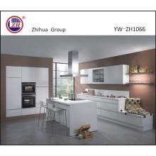 Moderne Australien Lack Weiß Farbe Küche Kabinett