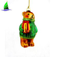 3D Glass Christmas Ornaments