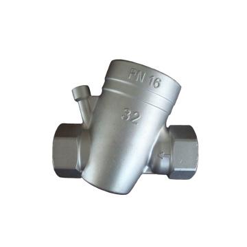 corps de valve de transmission d'usinage de commande numérique par ordinateur d'acier inoxydable