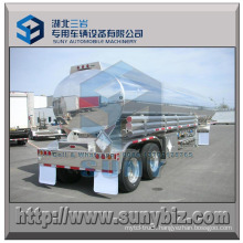 35 M3 Aluminum Lifting Axle Oil Tanker Trailer