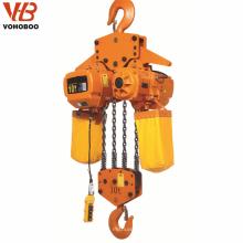 1 tonne 2.5 tonne 5 tonnes hgs-b palan électrique à chaîne 220 volts prix palan grue 10 tonnes