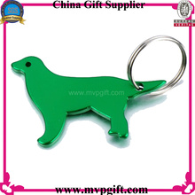 Metal Keychain with Bottle Opener Function