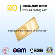 OEM Bucket Tooth Usinage Investment Casting