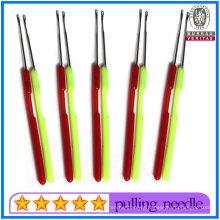 Wholesale Colorful Plastic Pulling Needle Hook Needle