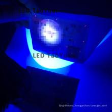 Dark Flashlight Blue Light Source 3W