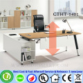 CTHT-1401 ручной винт регулируемый по высоте стол регулируемый по высоте стол для ноутбука для всех высоту