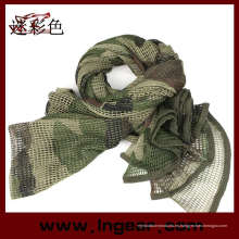 Militar táctico Camo red multiusos bufanda de malla
