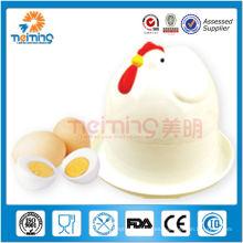 cocina de huevo hervida de plástico / caldera de huevos de microondas