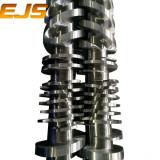German 1.8550 steel extruder parallel twin screw barrel