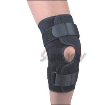 Hot Sale Neoprene Knee Pad Knee Support avec trou (NS0022)