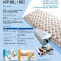 anti decubitus air mattress with electronic pump
