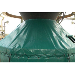 Oil & Gas Industry Tarpaulin Covers