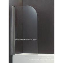 Swinging Curve Shape Sicherheit gehärtetes Glas Badewanne Bildschirm (BS-10)