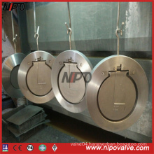 Forged Stainless Steel Wafer Type Single Plate Swing Check Valve
