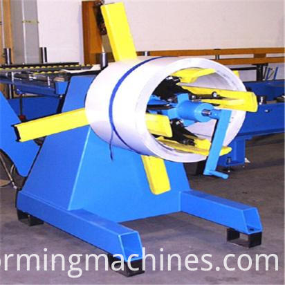 Slat Shutter Door Roll Forming Machine-decolier