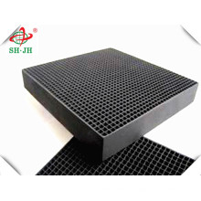 High Quality Koh Impregnated Honeycomb Activated Carbon Manufacturer For Sale Removal H2s
