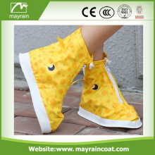 Waterproof kids PVC Rain Shoe Covers botas de chuva