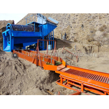 mobile trommel  screening machine for sale