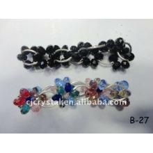 Bracelets à perles colorées