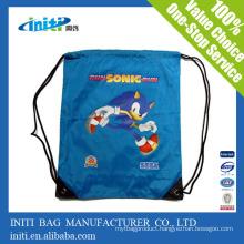 New design 2015 new fashion cartoon character drawstring bag